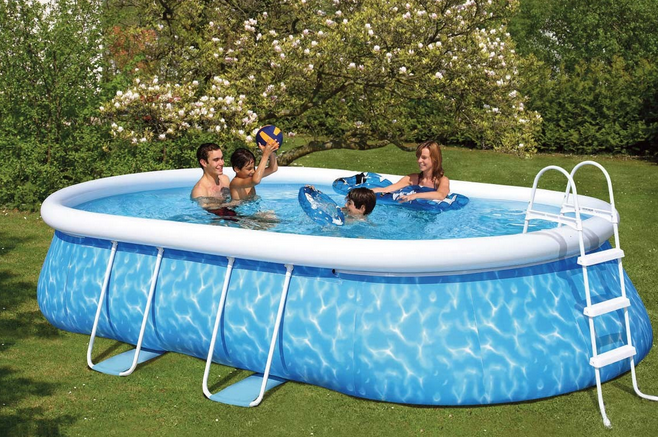 choix piscine auto portante