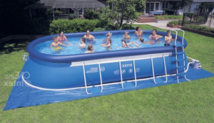 le prix d'une piscine auto-portante