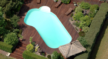 exemple piscine polyester