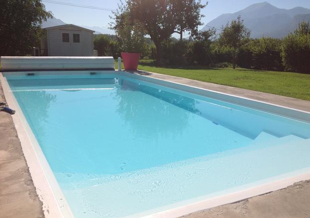 piscine en klit polyester