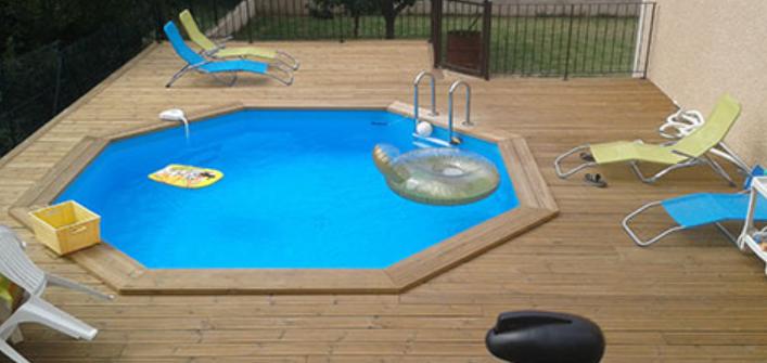 piscine et terrasse en bois