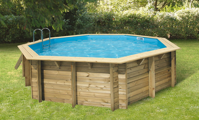 Les diff rents types de piscine for Peut on enterrer une piscine hors sol en bois