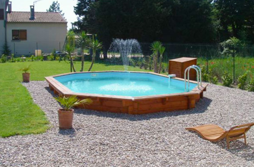 Les piscines en bois en photo for Piscine celestine 7