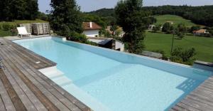 piscine rectangle bois