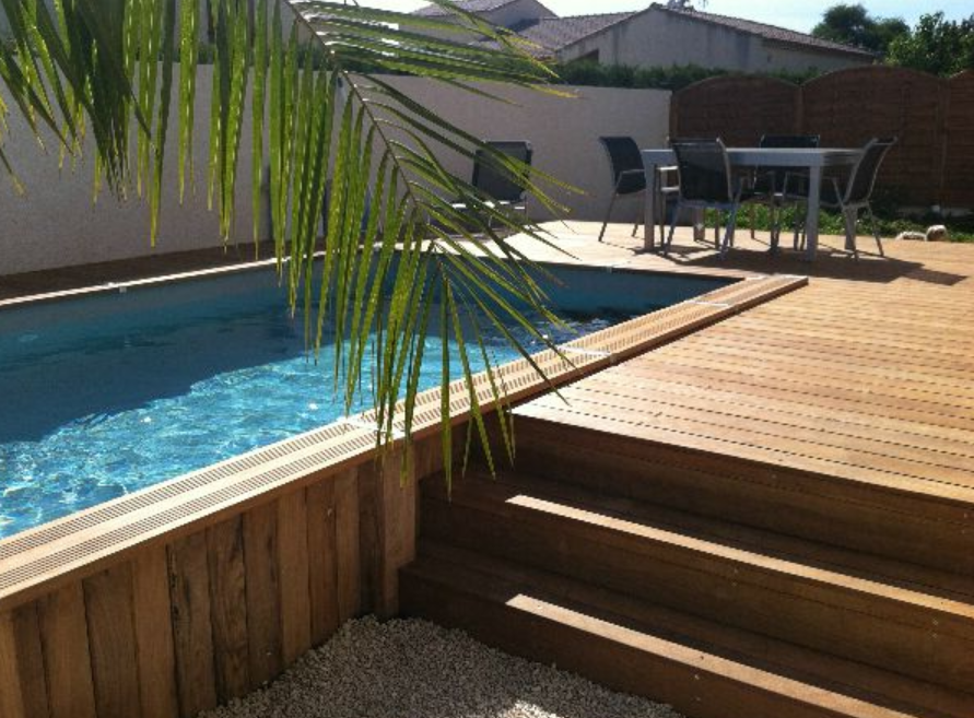 Le tas d 39 id e de piscine semi enterr e for Acheter piscine semi enterree