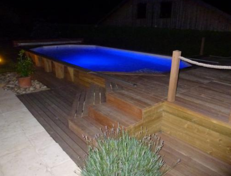 Le tas d 39 id e de piscine semi enterr e for Piscine semi enterre