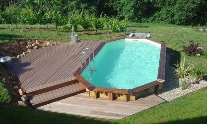 Qui peut construire ma piscine semi enterr e for Piscine bois semi enterree