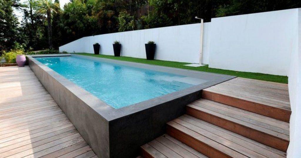 piscine semi enterrée 9